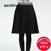Westlink/West New 2015 winter skirt in a simple Joker bust pettiskirt girl umbrella skirt little black dress