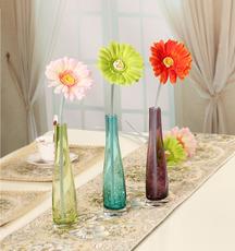 迷妆欧式简约风格 时尚现代装饰品家居饰品摆件花插 时尚玻璃花瓶