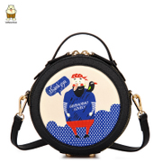 Northern bag 2016 new pop bags mini bag Crossbody women's new round original small round women's shoulder bags