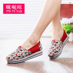 MI Ka Korean wave in the fall canvas shoes feet lazy student leisure shoes fashion shoes shoes