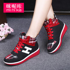 Microphone clicking fall 2015 the new increase in the Korean version of the invisible shoes fashion casual breathable sneakers women's shoes