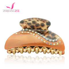 Zhijiang hair Korea hairpin rhinestone hair jewelry catch Chuck Korean medium spring clip top clip card