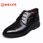 Spider King and down to keep warm in the winter men's shoes men's leather padded cotton shoes new 2015 high men shoes