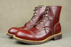 Redwing8111同款马丁靴 WHITE'S JULIAN 高帮牛皮靴 工装靴 纯手工靴 日单大厂出品 固特异手工缝制 后腰完美弧线 芝麻大底 性价比爆棚