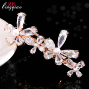 Smart Zircons from Japan and South Korea clip hair clip hair bangs the side clip Clip clip Clip clip Clip new