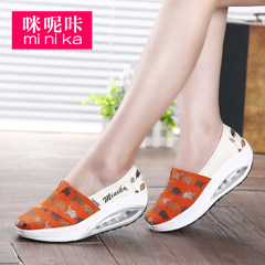 MI Ka fall 2015 thick-soled canvas shake shoes fashion casual shoes feet foot lazy people shoes women's shoes