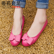 Tilly 2015 summer cool foot new leather flat casual lazy mother students shoe nursing shoes women's shoes shoes