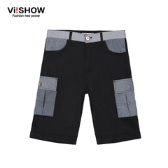 Viishow2015 summer dress new shorts five male European and American casual shorts Pocket cargo Shorts Pants boom