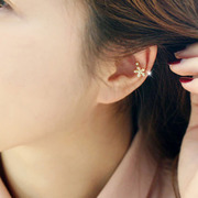 Cool na Korean jewelry jewelry cute ladies non-pierced earrings u Starfish Stud Earrings ear nail 2240