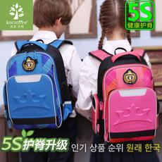 韩国kk树书包小学生男3-4-5-6年级儿童书包6-12周岁女童护脊双肩