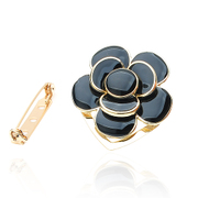 Ya-na Korean scarf buckle brooches brooch scarf clip pin of dual-career women XZ32