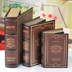 格嘉仿真书假书书本书籍多功能书房装饰书道具书盒模型装饰品摆件