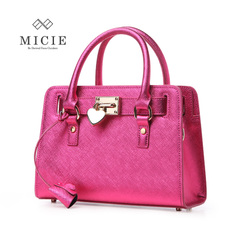 MICIE/beautiful city summer 2015 new Western leather handbag shoulder bag women's heart-shaped lock leisure package