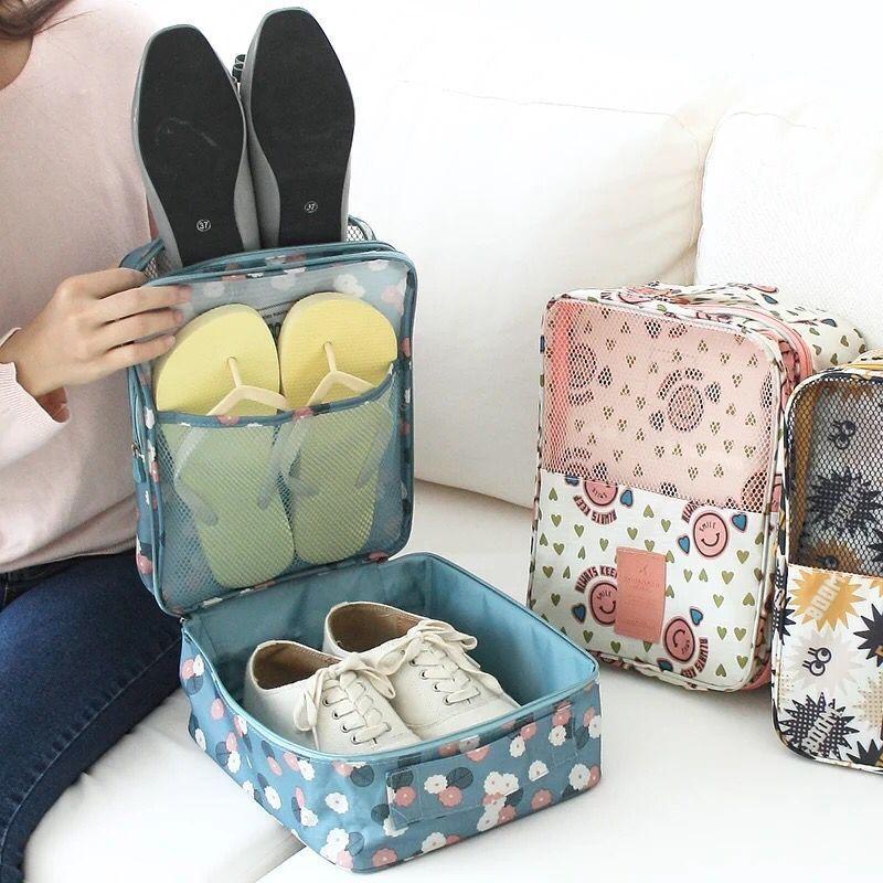 旅行鞋子收纳袋整理包防尘鞋袋收纳包 大容量旅游便携鞋盒鞋包