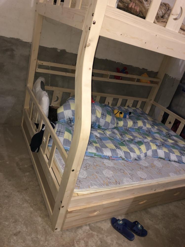 入手评价柏丽韦帮新款子母床高低床口碑怎么样,入手体验不看后悔!