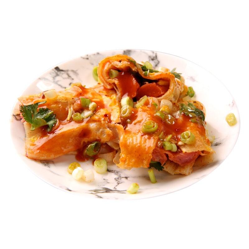古月春成正宗烤冷面皮烤冷面片专用酱家用家庭装特色东北特产小吃