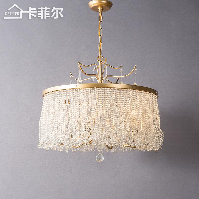 客厅中式吊灯铜灯
