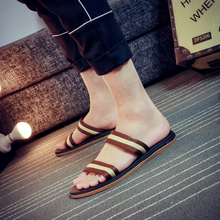 夏季韩款户外沙滩鞋男式防滑ti10磨休闲ad会越南鞋男凉拖鞋