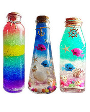 水晶泥泡大珠海jq4宝宝水晶zp虹海洋星空漂流瓶全套材料包邮