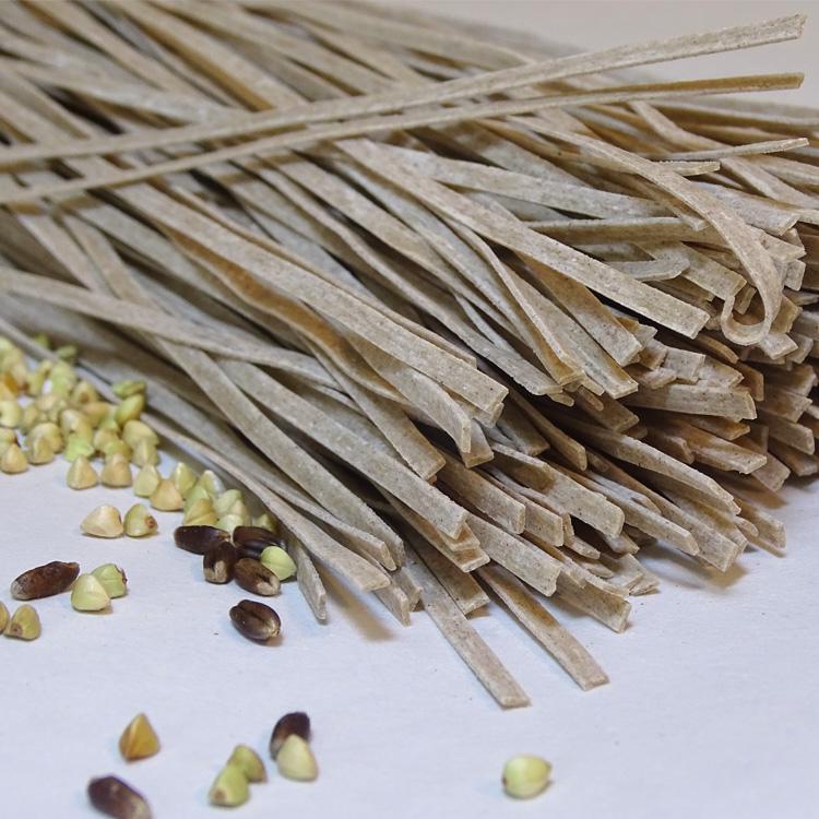 【黑麦荞麦面条】荞麦挂面 农家全麦无添加粗粮面条500克非苦荞面
