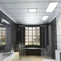 平板燈嵌入式辦公室面板燈工程吊頂燈盤600x600格柵燈led頂雷士
