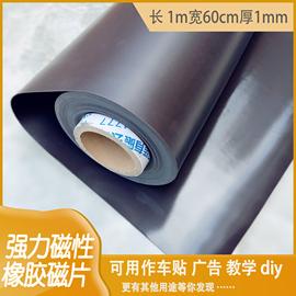强力磁性橡胶磁片软磁铁贴片磁板吸铁皮吸铁石软磁贴片广告磁力贴