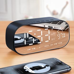诺西 V5无线蓝牙音箱超重低音炮车载家用迷你电脑手机闹钟小音响