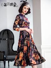 名兰世家女装2019秋季新品