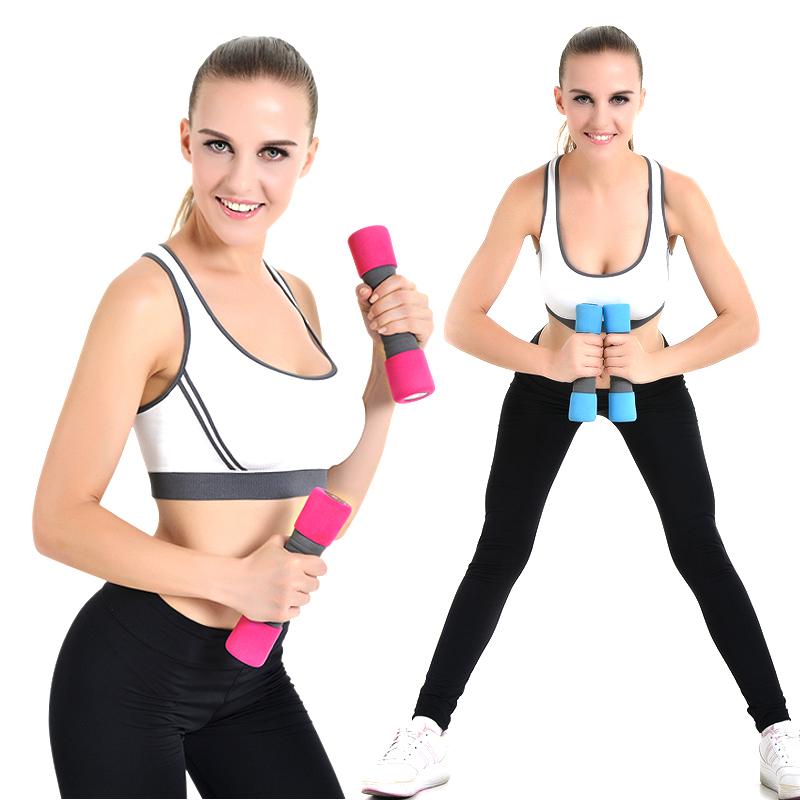Как подобрать вес гантелей для девушки?