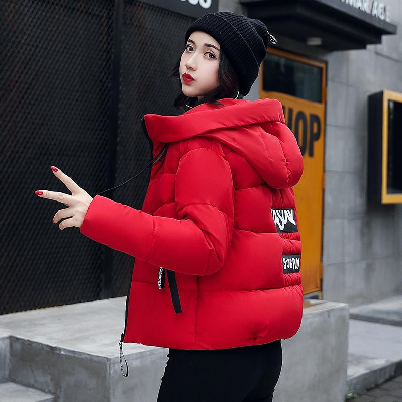 八峰冬季新款棉衣女韩版短款小棉袄外套修身显瘦加厚羽绒棉服9