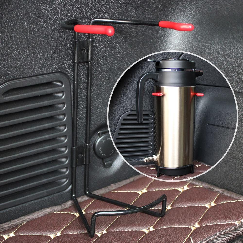 保温杯车载固定架 车内热水杯底座大货车面包车载电热壶改装支架