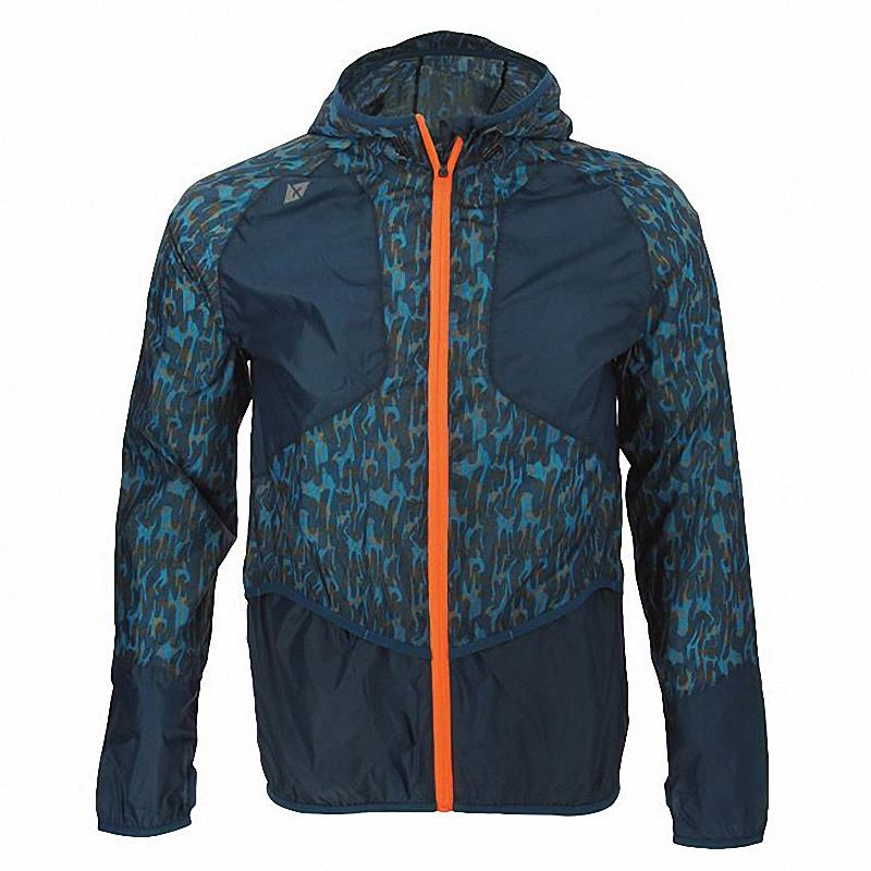 男式新款夏季秋季耐磨轻薄时尚印花皮肤衣防水防风运动户外风衣