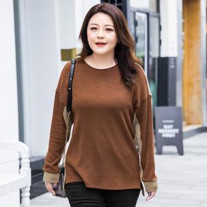 【不参加双十一】MsShe大码女装2018新款冬装休闲毛衣M1843244