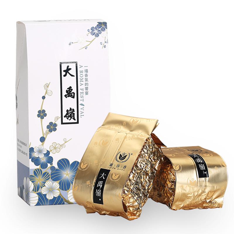 松竹梅新语大禹岭高冷茶300g精选特级高山乌龙茶LUGUTEA春台湾菜