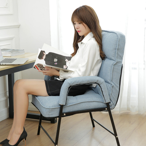 Residential furniture lazy sofa computer chair home comfortable long sitting game chair office chair simple recliner chair