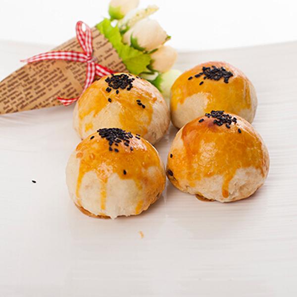 满包邮手工红豆肉松蛋黄酥单个75克台湾地方特色传统糕点孕妇零食