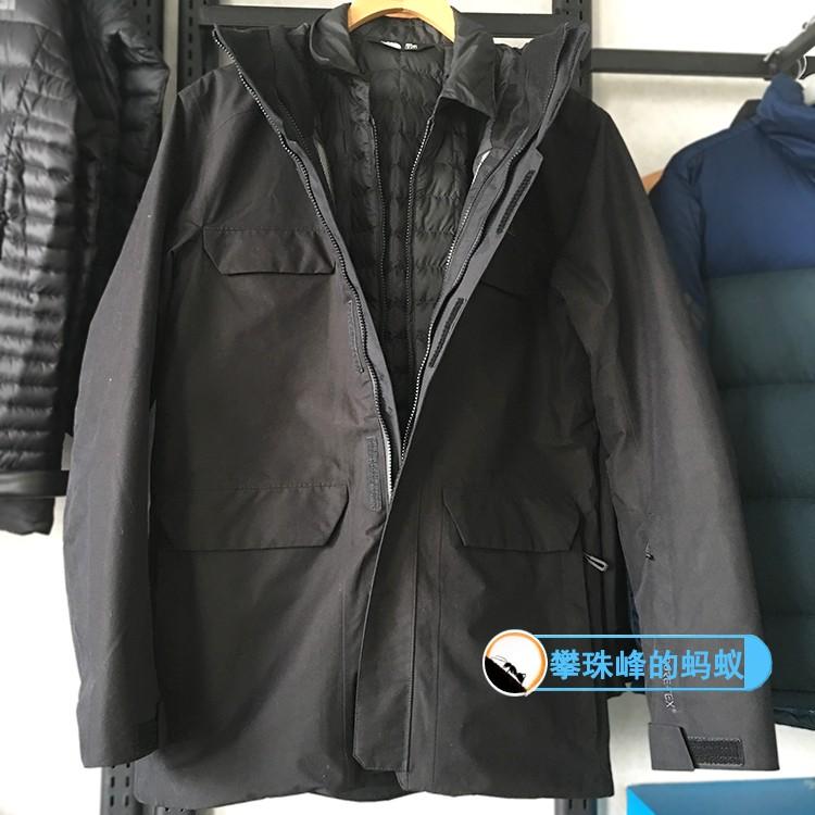秋冬款户外北面NF0A3IFL男式GTX防水棉内胆三合一冲锋衣3IFL