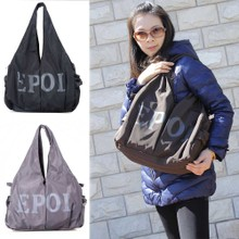EPOL bag authentic new personality fashion tide female stars in the big bag single shoulder bag zipper bag, leisure bag