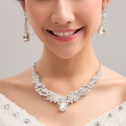 2015 Fashion necklace + earrings set wedding dress accessory specials XXL003