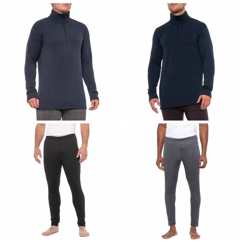 美产Kenyon Polartec Power Stretch男款厚款弹力排汗保暖内衣裤