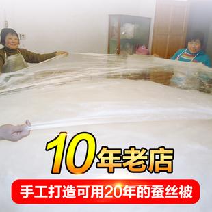 手工桑蚕丝被正品 100%桑蚕丝 夏凉被春秋被芯冬被儿童子母被特价
