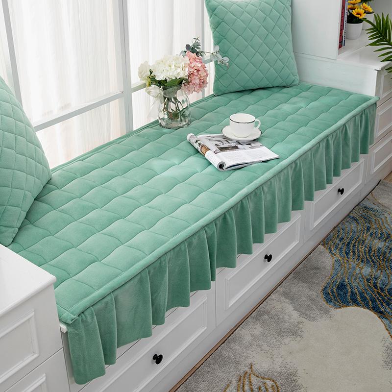 可机洗防滑飘窗垫窗台垫毯四季通用简约现代北欧式榻榻米阳台垫子