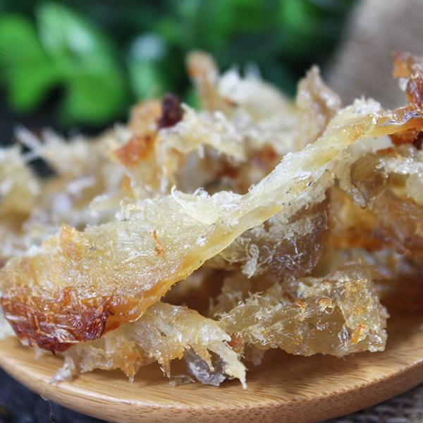 烤鱼肉500g小吃烤鱼片鱼干鳕鱼碎片鳕鱼片模拟红烧蟹肉鱼脯小零食