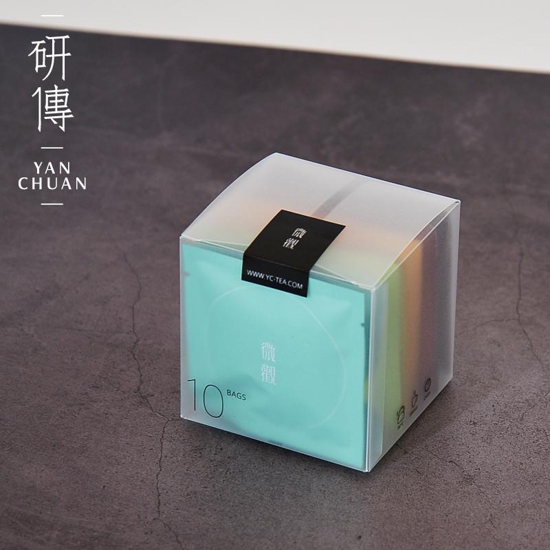 ������Ʒ:研传微观袋泡茶 五种口味组合10小袋装 茶包茶叶冷热泡茶办公用茶