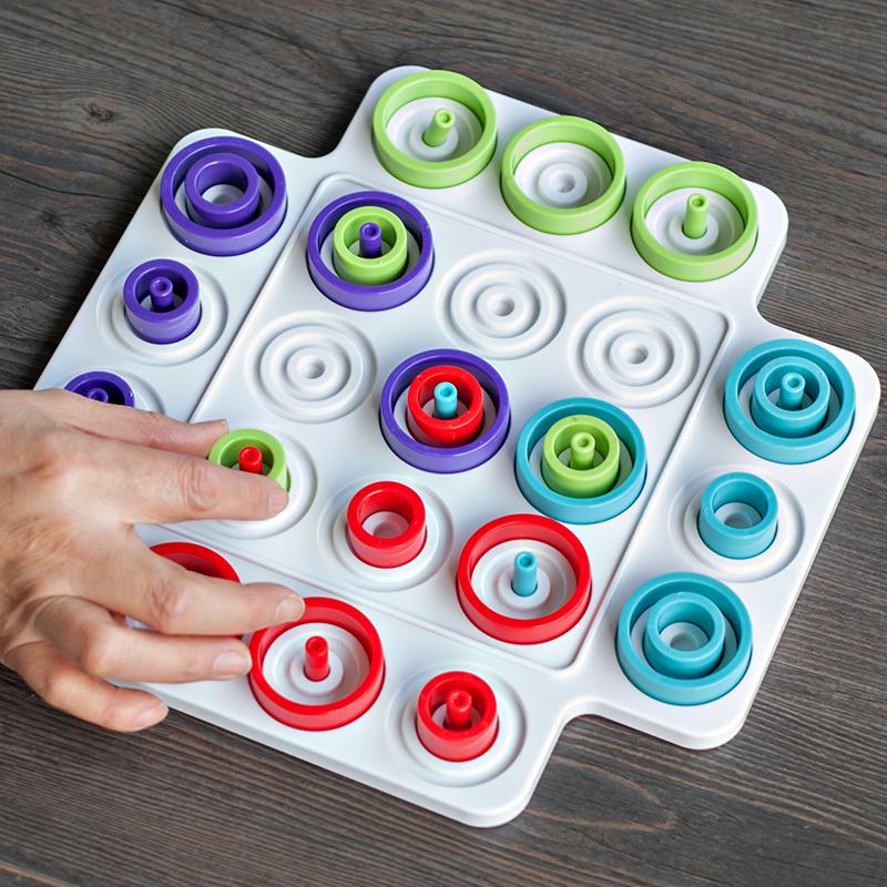 小乖蛋套圈 圈套 多人亲子互动棋类益智游戏儿童专注训练桌游玩具