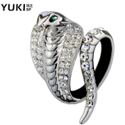 YUKI brooches, men''s suit high-end clasp Europe fashion jewelry brooch pin Joker snake Lady scarf buckles