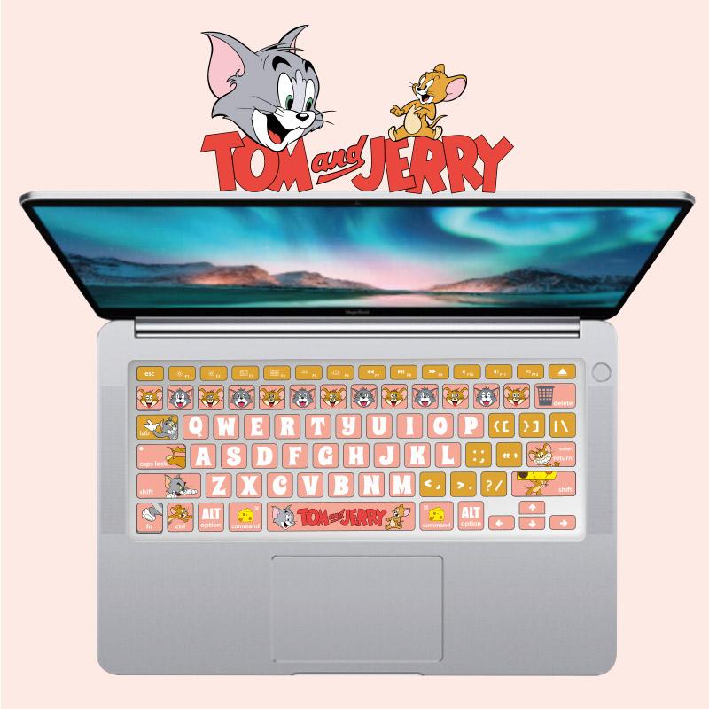 适用于华为荣耀magicbook笔记本d电脑matebook14寸13键盘膜15猫鼠