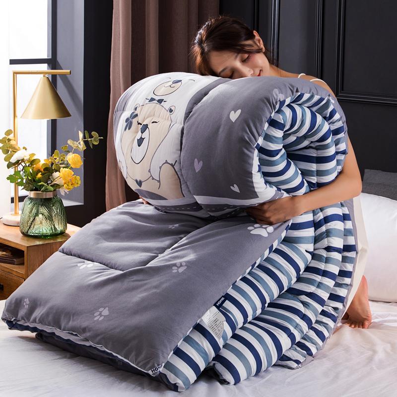 10斤被子冬被芯加厚保暖双人冬季宿舍单人学生空调春秋冬天全棉被