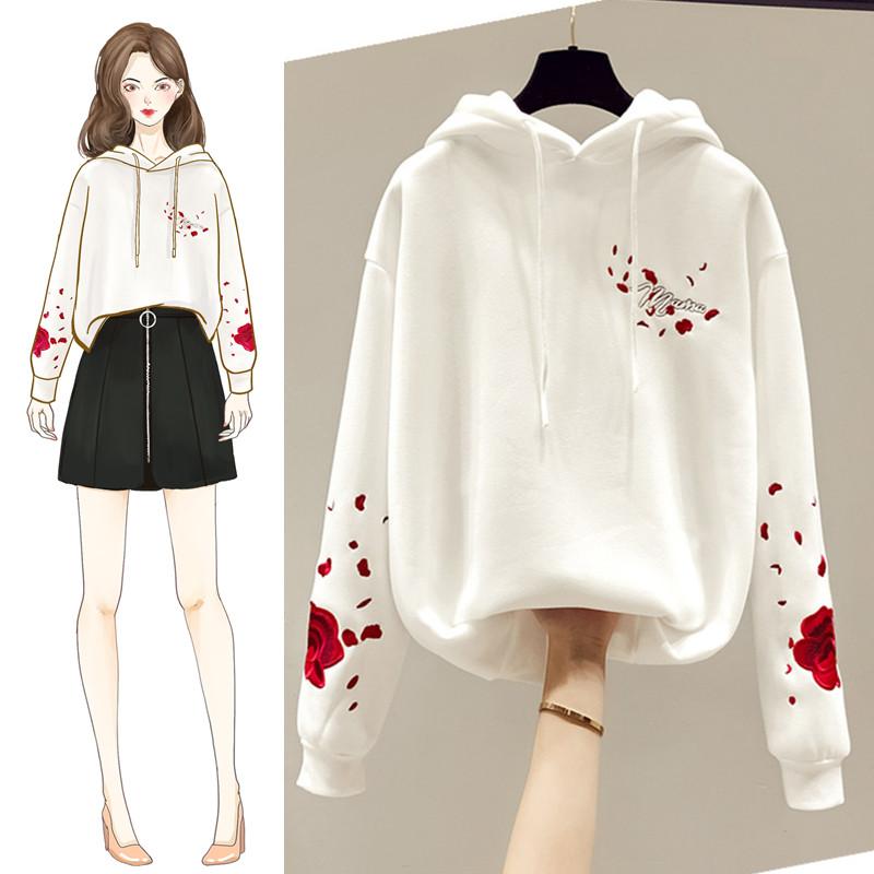 韩版女装2020年新款春季春装宽松女士卫衣薄款外套ins潮上衣春秋