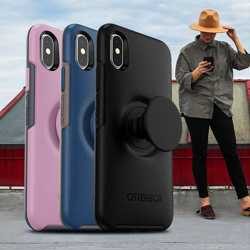 OtterBox苹果78p手机壳iPhone xs max保护壳xr气囊支架男女防摔套